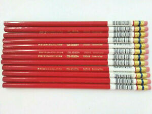 Prismacolor Col Erase Erasable Colored Pencils Carmine Red 20045 Box Of 12 696551191276 Ebay