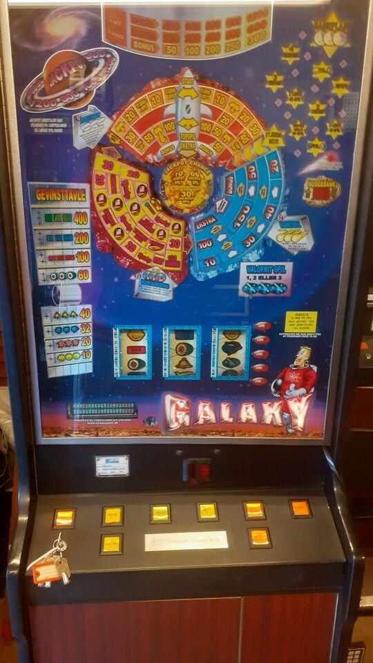 16 stk bla maxi automater, spilleautomat, God