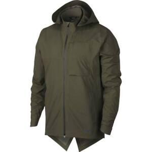 Details Nike 928477 Zu 395 Aeroshield Green Size M Nwt Jacket Running Men's 3RjALq45