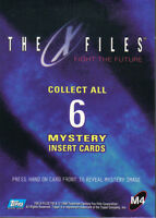 X FILES MOVIE FIGHT THE FUTURE MYSTERY INK CARD M4