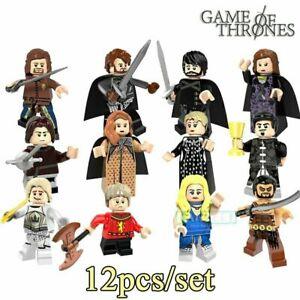 Juego de tronos lego bloques lote 13 12+ inmaculado+ marcapaginas+b