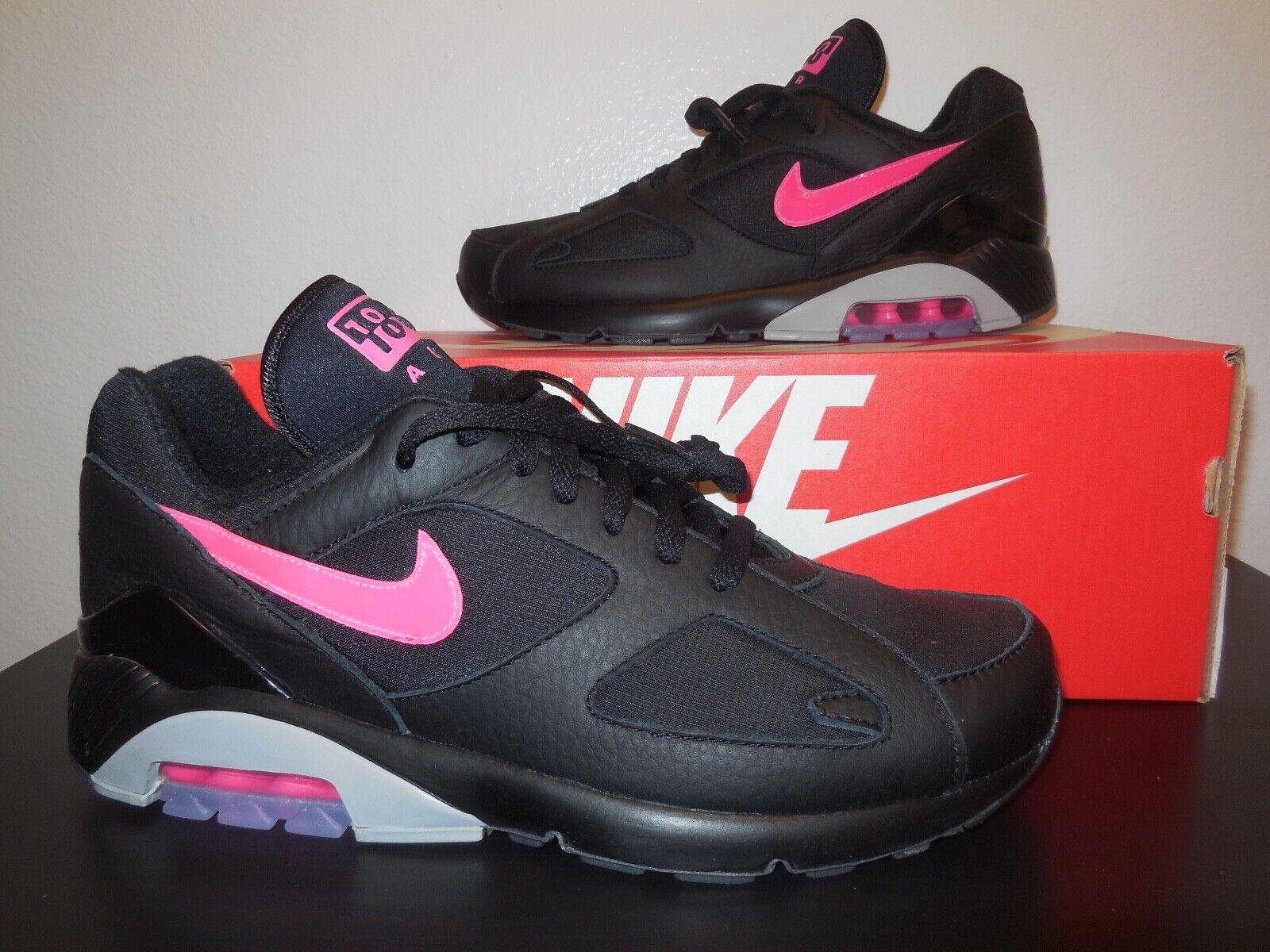 Men's Nike Air Max 180  Black  shoes -StyleAQ9974 001- Reg  140 -Sz 10.5 -NEW