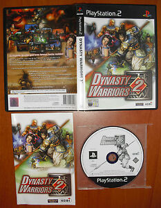 Dynasty-Warriors-2-Koei-PlayStation-2-PS2-PStwo-Pal-Espana-MUY-BUEN-ESTADO