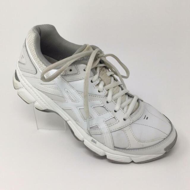 ASICS Womens Gel-190 TR White Leather