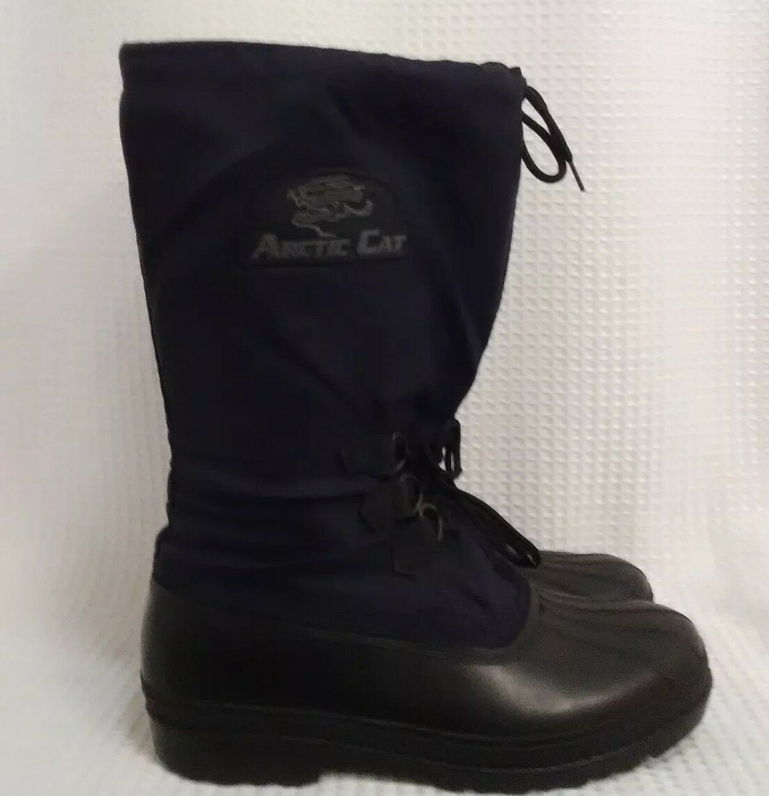 Arctic Cat Black Winter Snow Boots Mens size 11