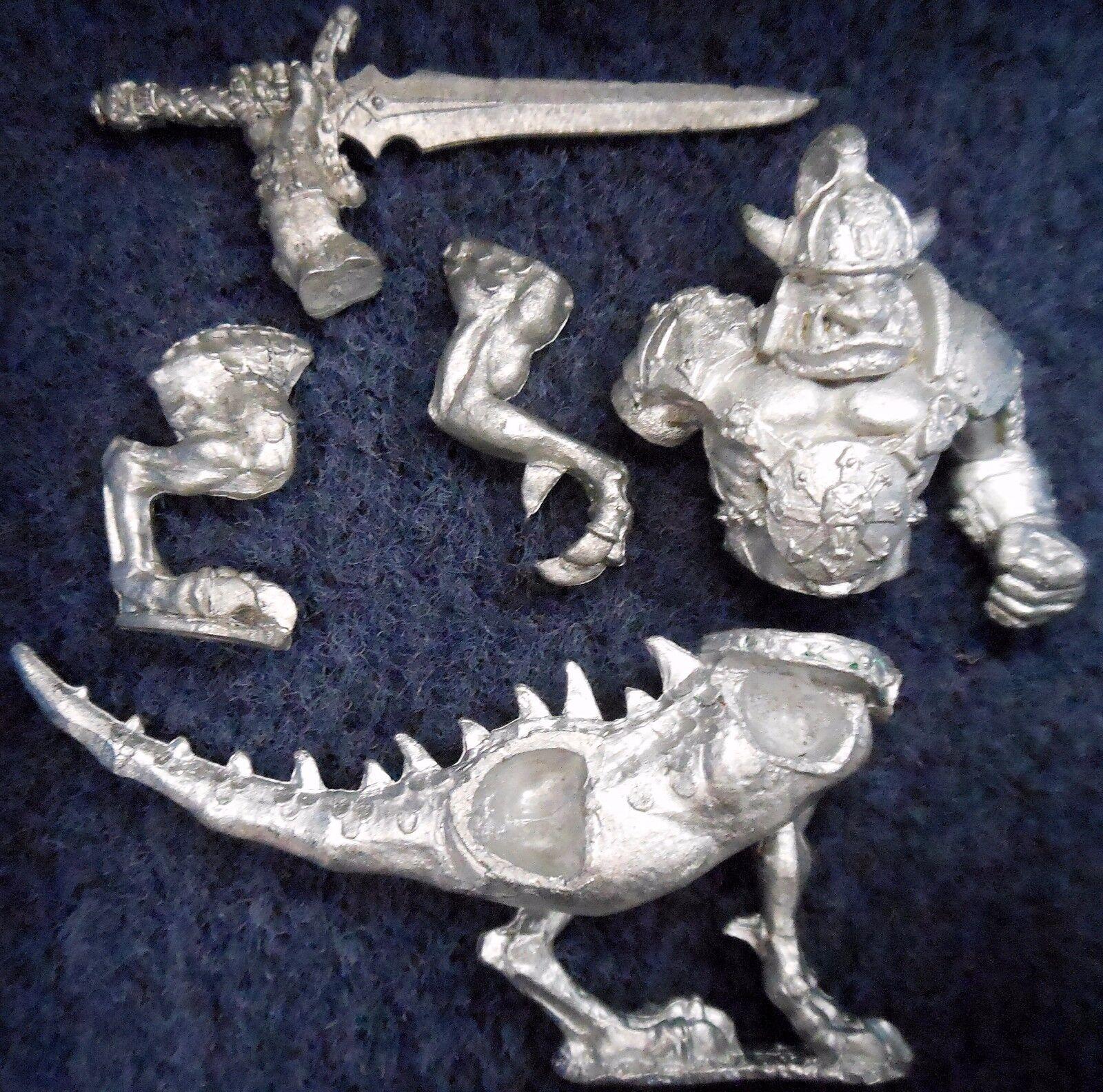 1994 Chaos Dragon Ogre A1 Games Workshop Citadel Warhammer Army Ogor Cavalry GW