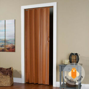 Wallscapes Vs3280f Spectrum Via 24 To 36 By 80 Inch Fruitwood Accordion  Folding Door