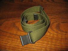 Green nylon m16 rifle sling adjustable ar like garand with quick detach clip us