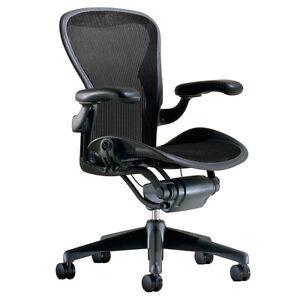 Herman Miller Aeron Chair Size B Medium Fully Adjustable Graphite