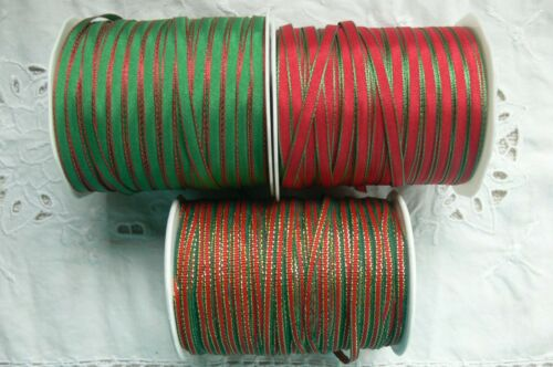 Solid Edge Stitched 4mm Wide 5/&10 Metre Length Plus Combo Colour Choice ALD1 340