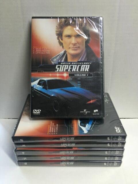 DVD Serie SUPERCAR Stagione1 VOL. 1-6 Hasselhoff ancora SIGILLATI edizione 2006