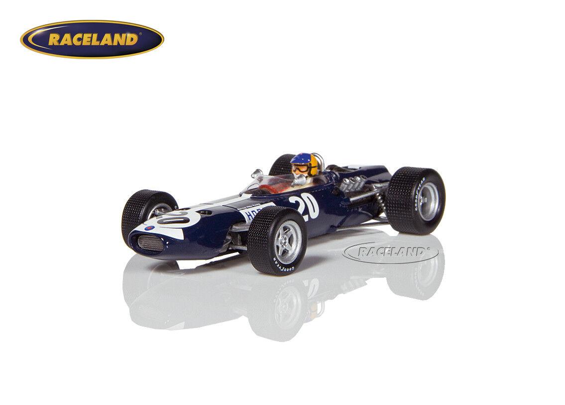 BRM p261 v8 f1 Bernard blanc 8 ° British GP 1967 David Hobbs, SPARK 1 43, s4794
