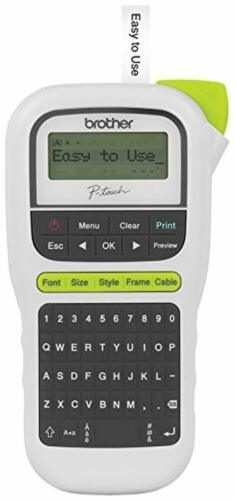 Brother P-touch Easy Portable Label Maker QWERTY.. Lightweight PTH110