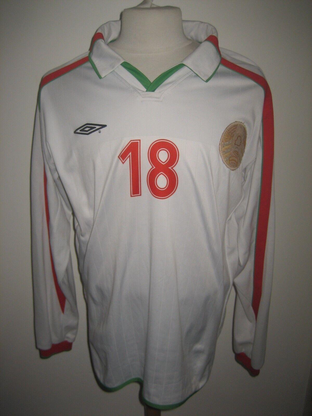 Belarus MATCH WORN home UEFA football shirt soccer jersey trikot maillot Dimensione XL