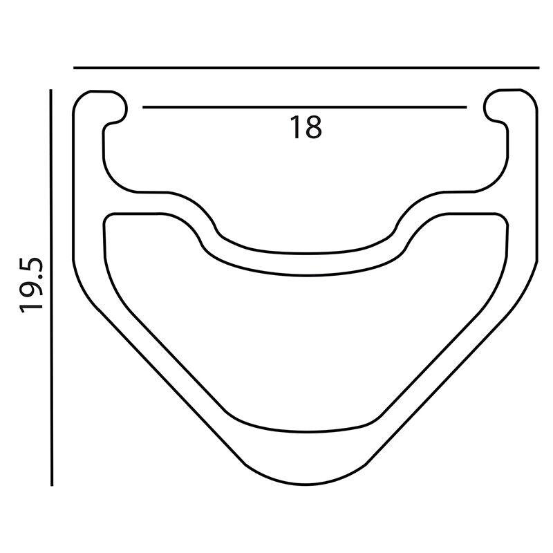 Image 11 - Velocity A23 Black Rims Suzue Hubs Single Speed Track Fixed Gear Bike Wheelset