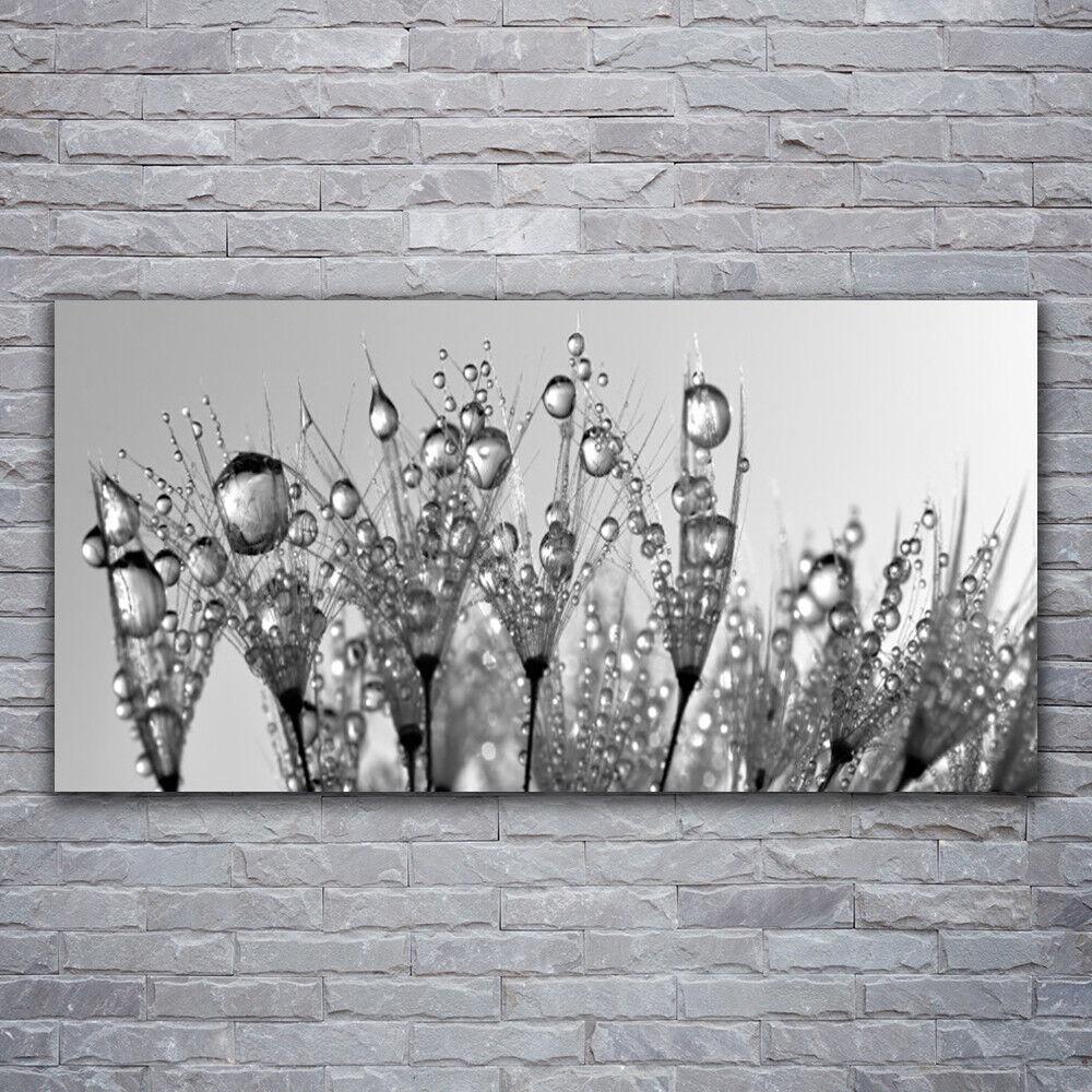 Photo sur toile Tableau Image Impression 120x60 Floral Abstrait