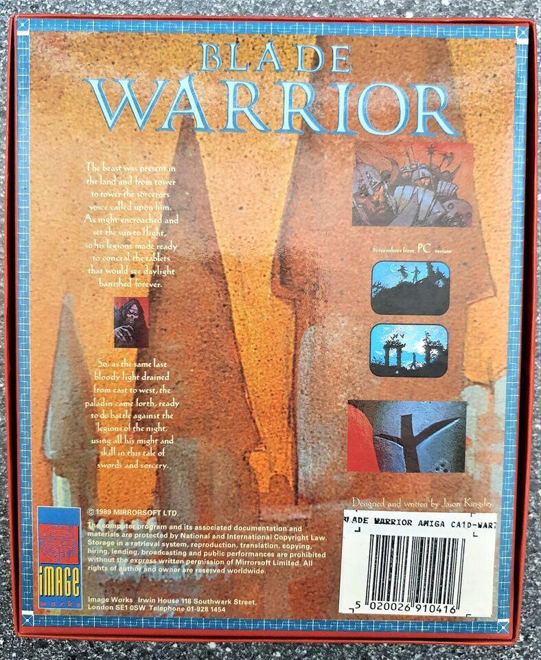 ** SOLGT ** Blade Warrior, Amiga