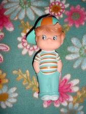 Vtg 1985-80s I'm a Gerber Kid Vinyl Squeaker Squeak Squeaky Toy Doll Boy-Hat on