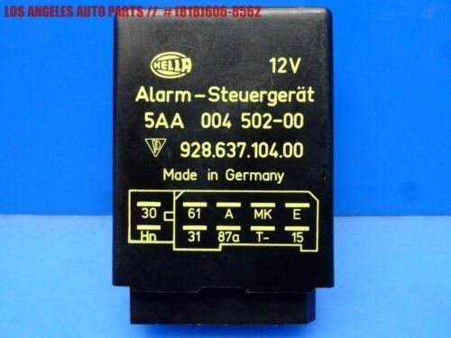 84-88 PORSCHE 928 ALARM ANTI THEFT RELAY CONTROL MODULE UNIT OEM 92863710400