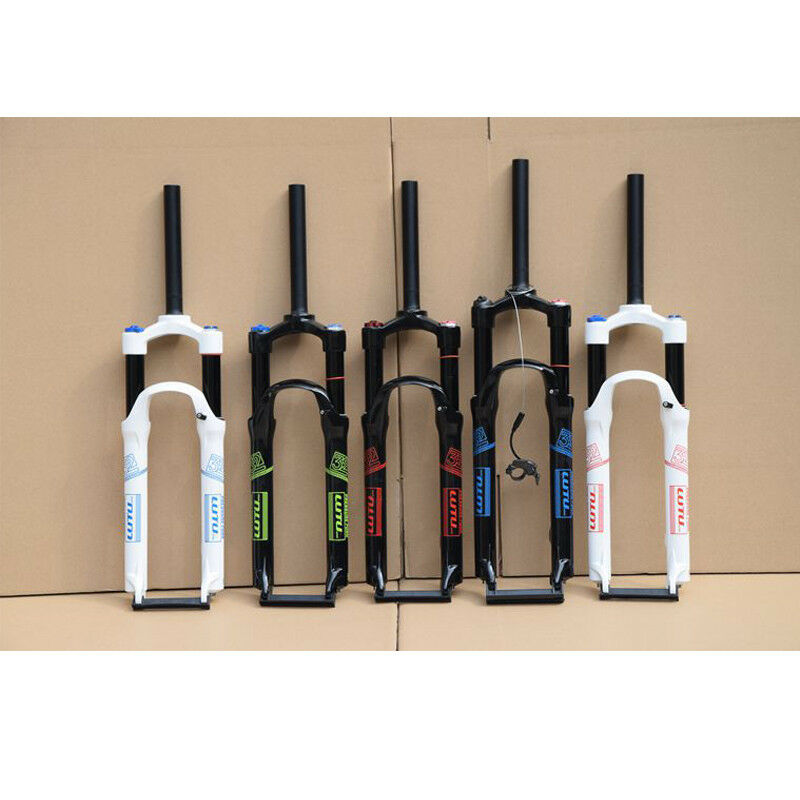 1-1 8  MTB Bicycle Air Suspension Forks 26  27.5 29  Jump Bike Fork Disc Brake  we take customers as our god