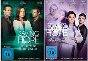 Saving Hope Die Hoffnung stirbt zuletzt Staffel 2+3 DVD Set NEU OVP