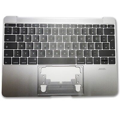 """Apple Macbook Retina 12"""" A1534 2015 Spacegrau Topcase Mit Tastatur Und Backlight Online Rabatt"""