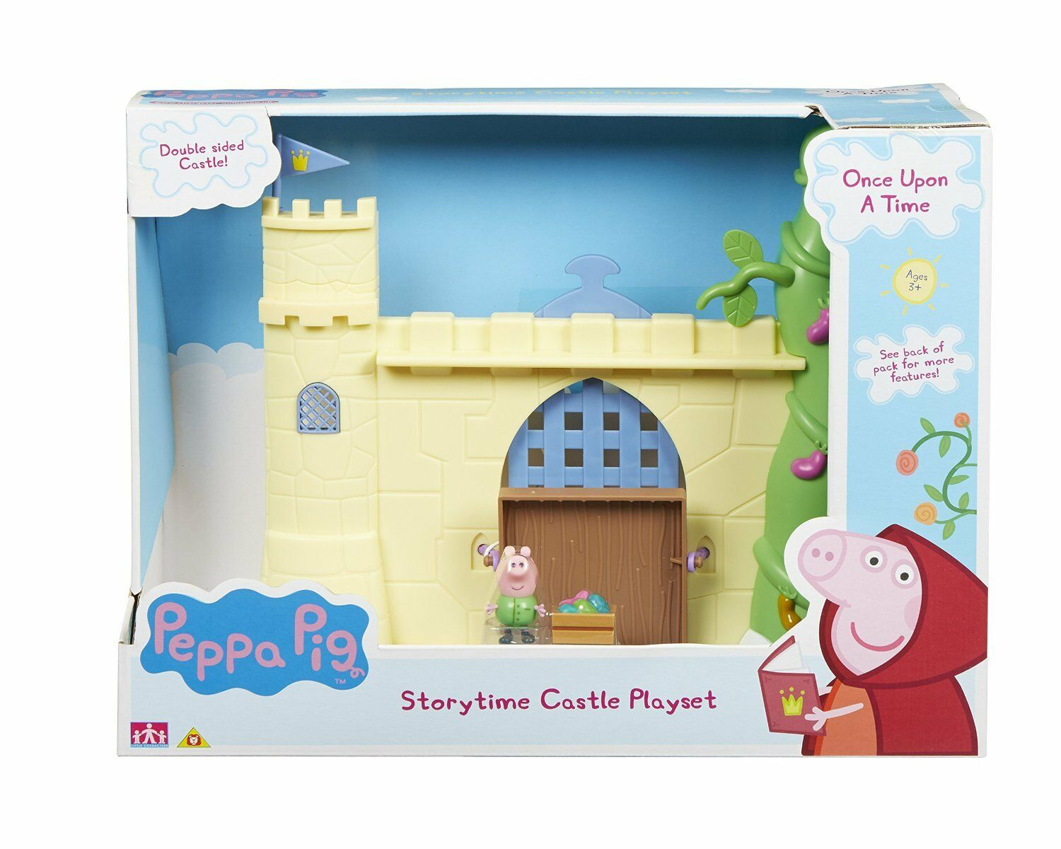 Peppa Pig Once Upon a Time Storytime Castle Playset with George figure