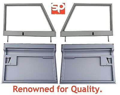 LAND ROVER SERIES 3 FRONT DOOR TOP & BOTTOM BOTH SIDES BRAND NEW UNGLAZED