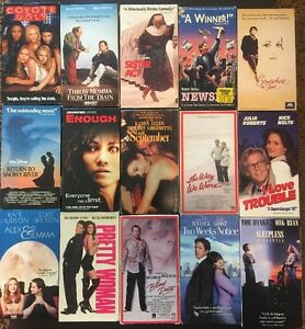 Details about RomCom/Romantic Comedy Movies VHS - Your Choice $2 99 Each  Pick Titles Flat Ship