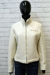 Giubbotto-GUESS-BY-MARCIANO-Donna-Taglia-46-Cappotto-Giacca-Bianco-Woman-Jacket