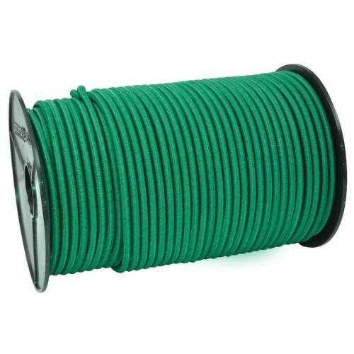 green elastic cord 8mm PE monoflex Expanderseil 30m grün Gummiseil für Plane