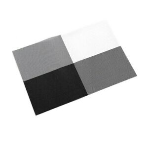 Silver-DinnerTable-Place-Mats-Sets-of4-Washable-Heat-insulation-Stain-resistant