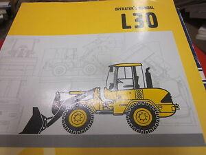 volvo l30 wheel loader operators manual ebay rh ebay com Volvo Wheel Loader Volvo L90F Service Manual