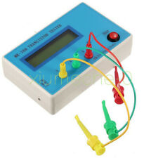 Mk 168 Trlcresr Transistor Lcr Esr Tester Semiconductor Device Analyzer New