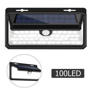LED-Lumiere-Solaire-Lampe-Luminaire-Applique-Murale-Detecteur-de-Mouvement-Pir