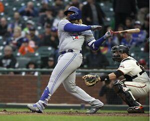 Vladimir-Guerrero-Jr-Toronto-Blue-Jays-1st-MLB-Home-Run-UNSIGNED-8x10-Photo