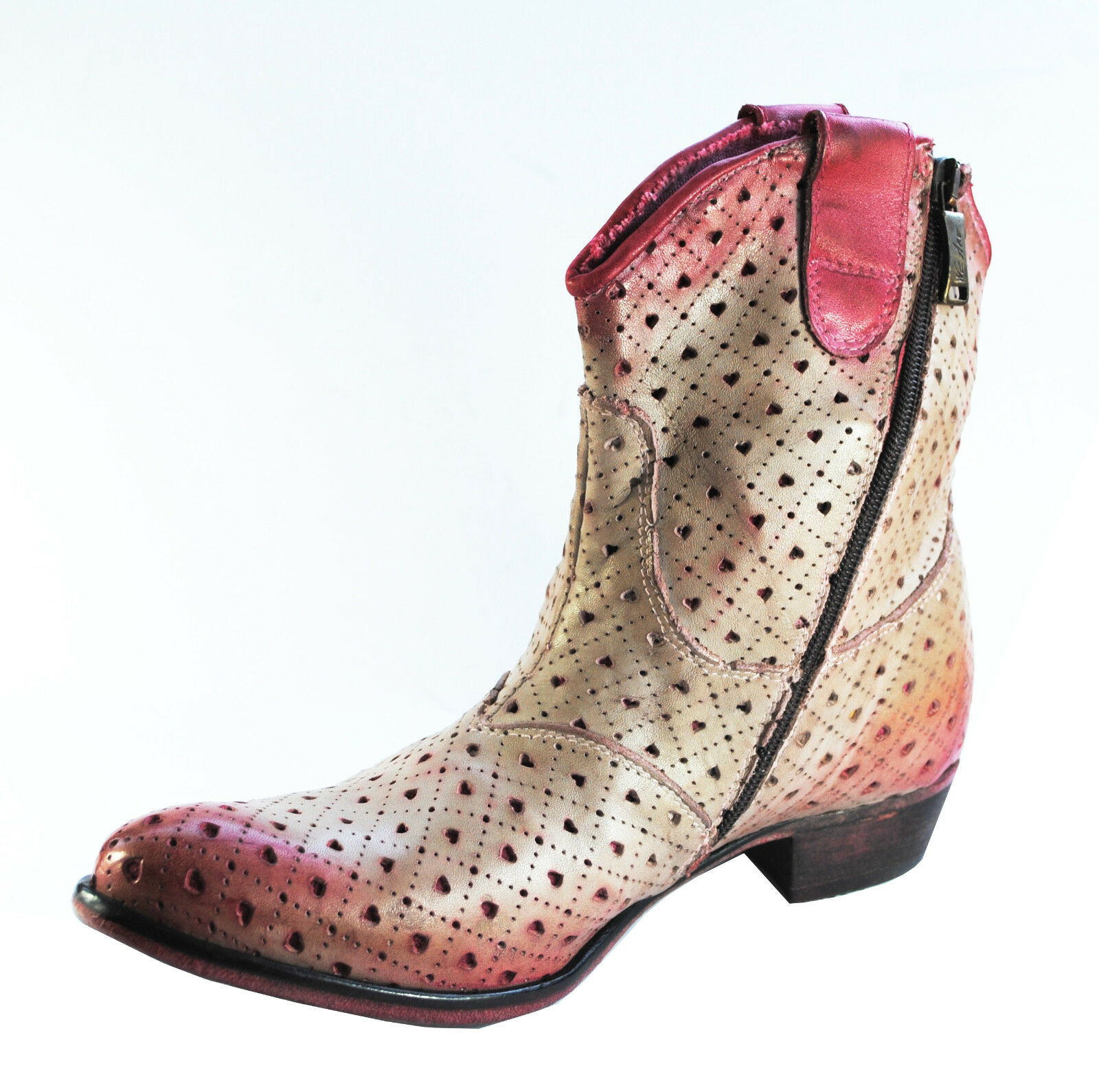 Stiefel Schuhe Stifletten We Are Replay ITALY HAND MADE  Gr. 36 Neu