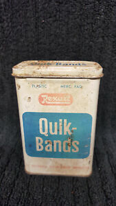 Vintage-Rexall-Quik-Bands-31-Assorted-Flesh-Colored-Bandages