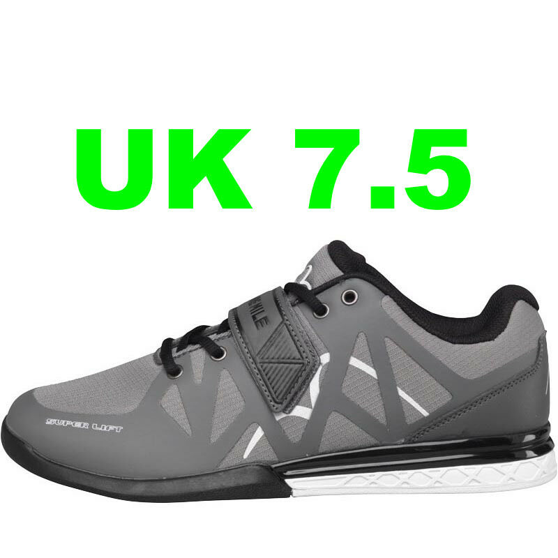 MORE MILE SUPERLIFT CROSSFIT WEIGHTLIFTING SHOES SIZE SPORTS TRAINERS NEW