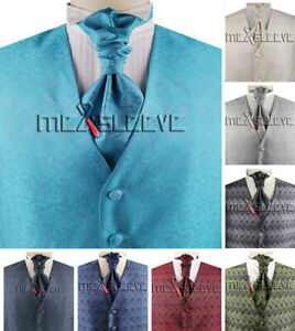 Dress/Bridal/Tuxedos/Suits Men's Paisley Formal Wear Waistcoat Set