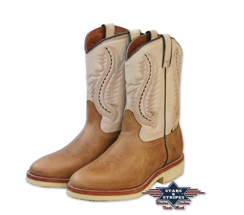 Westernstiefel Cowboystiefel Cowboy Stiefel WB-16