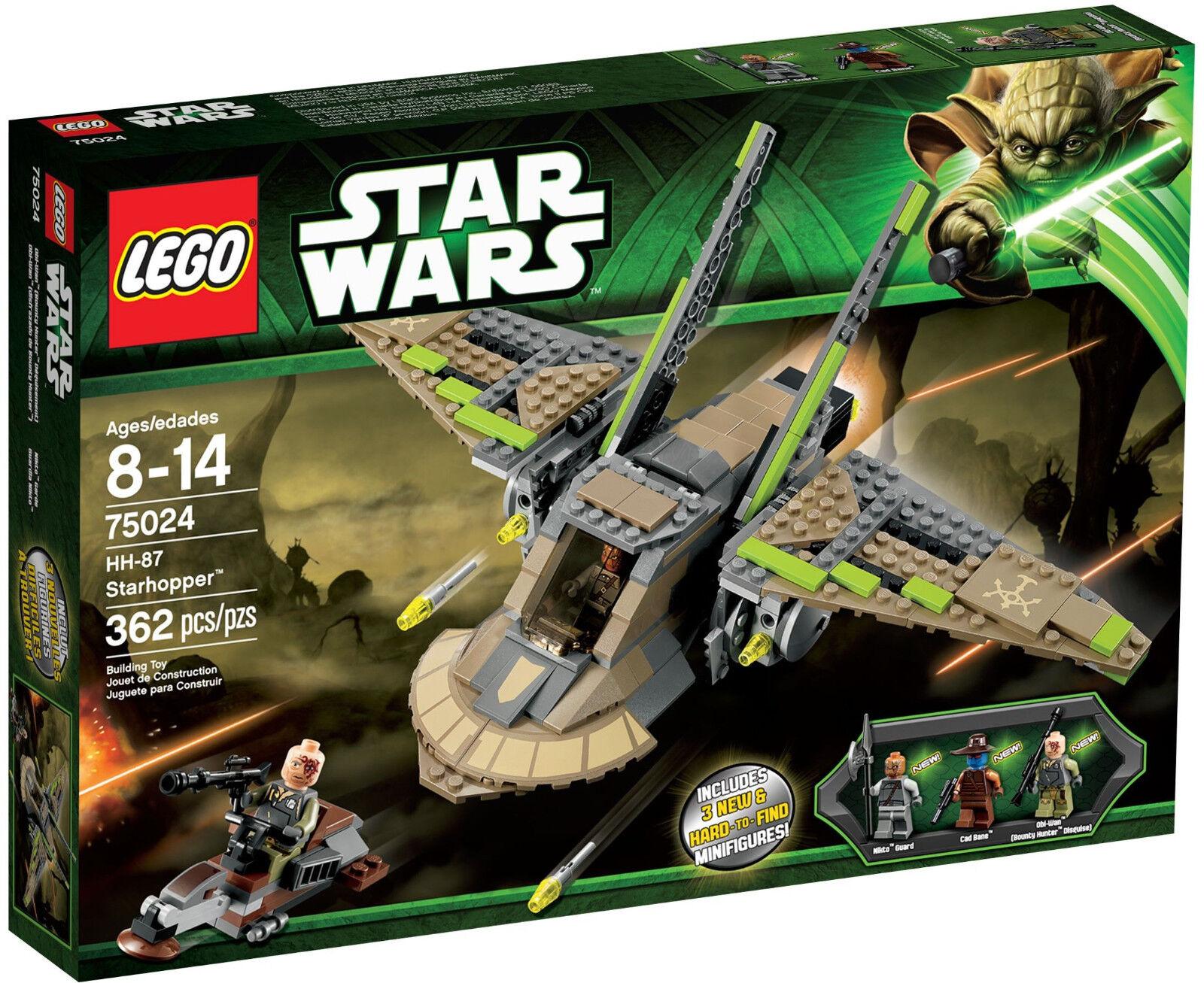LEGO 75024 Star Wars HH-87 Starhopper  Sealed Box    Nikto Guard d5656e