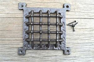 Medieval-style-iron-door-window-grill-spyhole-cover-vent-grill-GW9