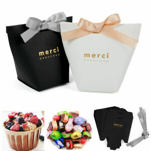 5X-Thank-You-Merci-Paper-Candy-Chocolate-Cake-Boxes-Gift-Bag-Wedding-Party-Decor