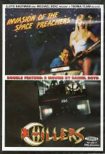 Invasion of the Space Preachers + Chillers double bill DVD Troma Traci Lordes