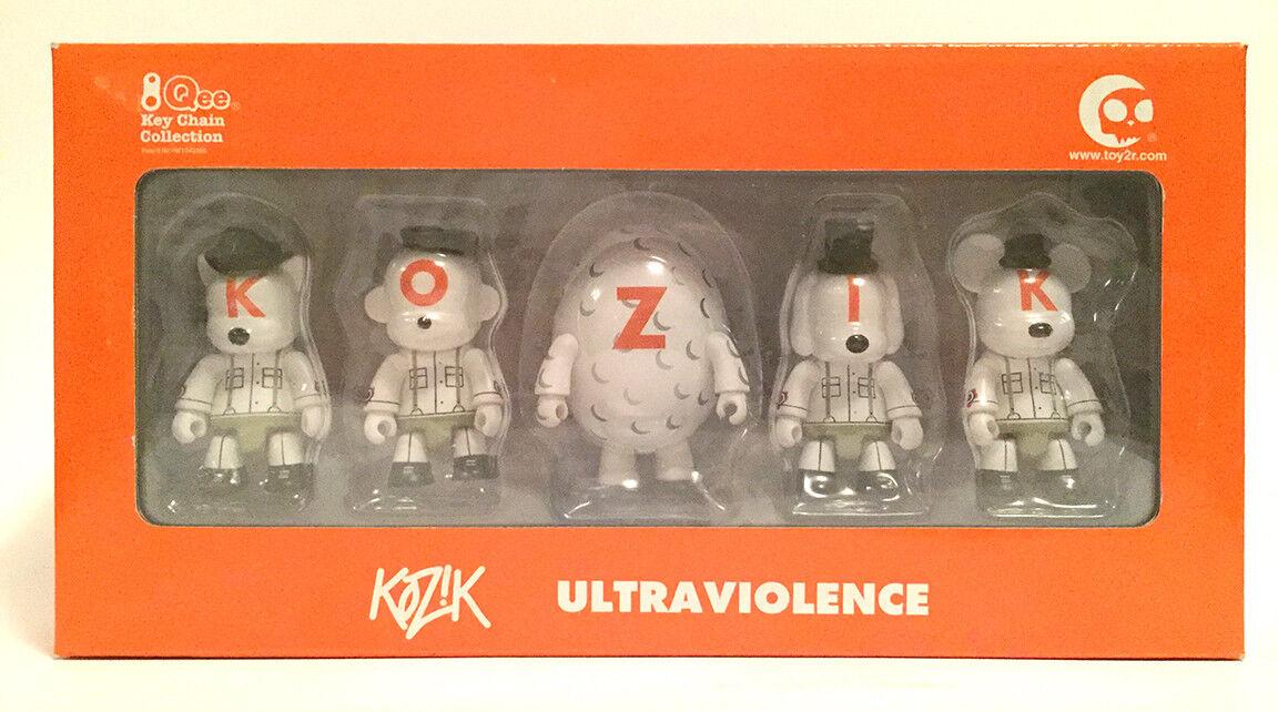 Kozik Ultraviolence Juguete Set Juguete2r mecanismo de relojería (blancoo)