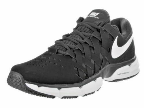 3a758d53cda Nike Lunar Fingertrap TR 898066-001 Black White Mens US Size 13 UK 12 for  sale online