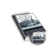 The Complete Works of Flavius -Josephus The Celebrated of Jewsh Historian PDF CD