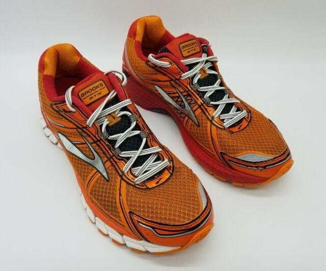 Brooks Adrenaline GTS 15 Men's Running Shoes Orange/Red 110181D813 Size 11.5 D