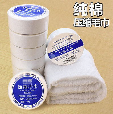 Magic Disposable Compressed Face Towel Washcloth Travel Outdoor Compact Towel